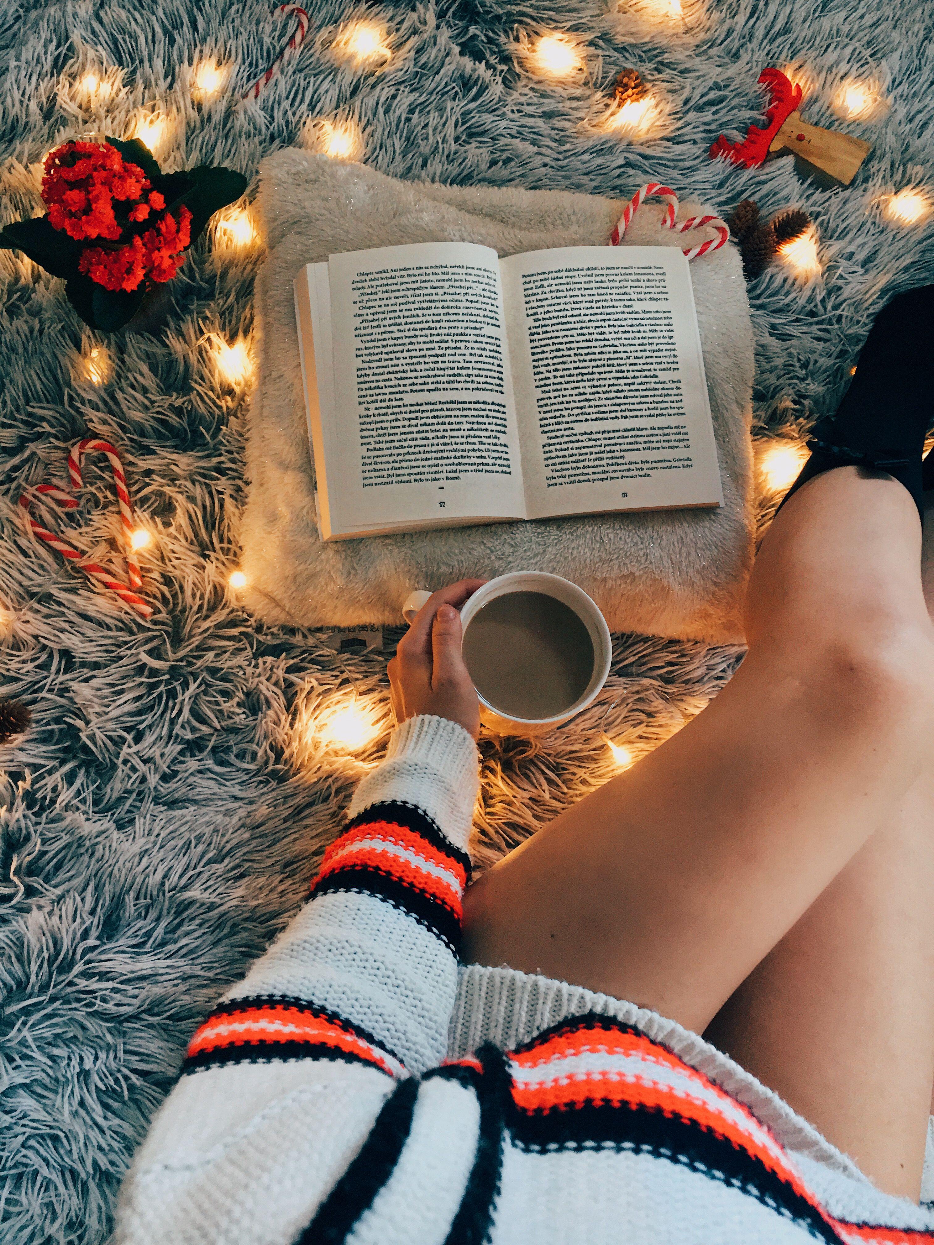 Monika Kucerova Christmas Aesthetic Bookstagram Inspiration Book Photography