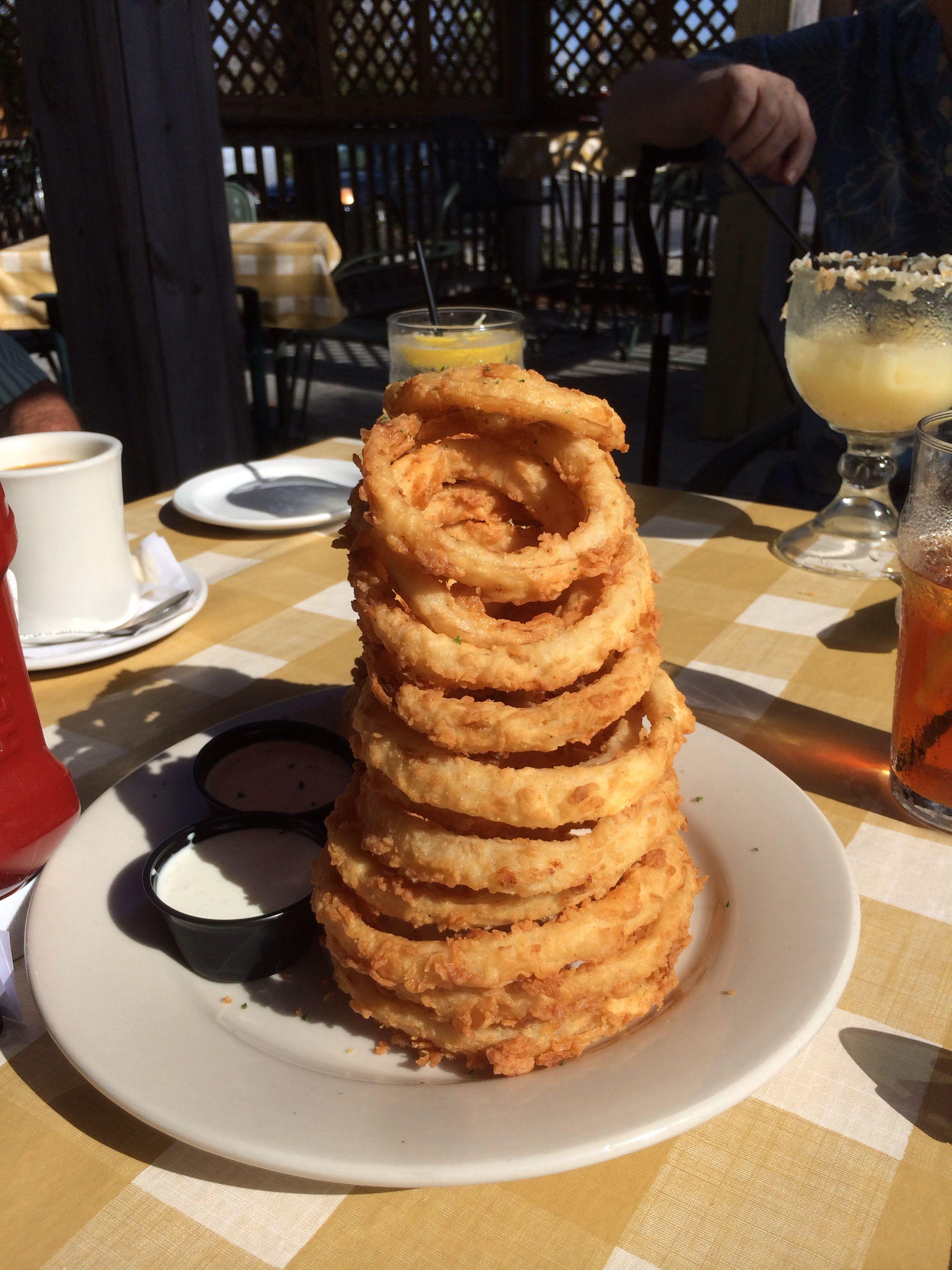 Onion rings at Cheddars