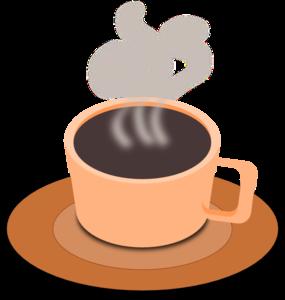 A Cup Of Hot Tea clip art - vector clip art online, royalty free & public domain