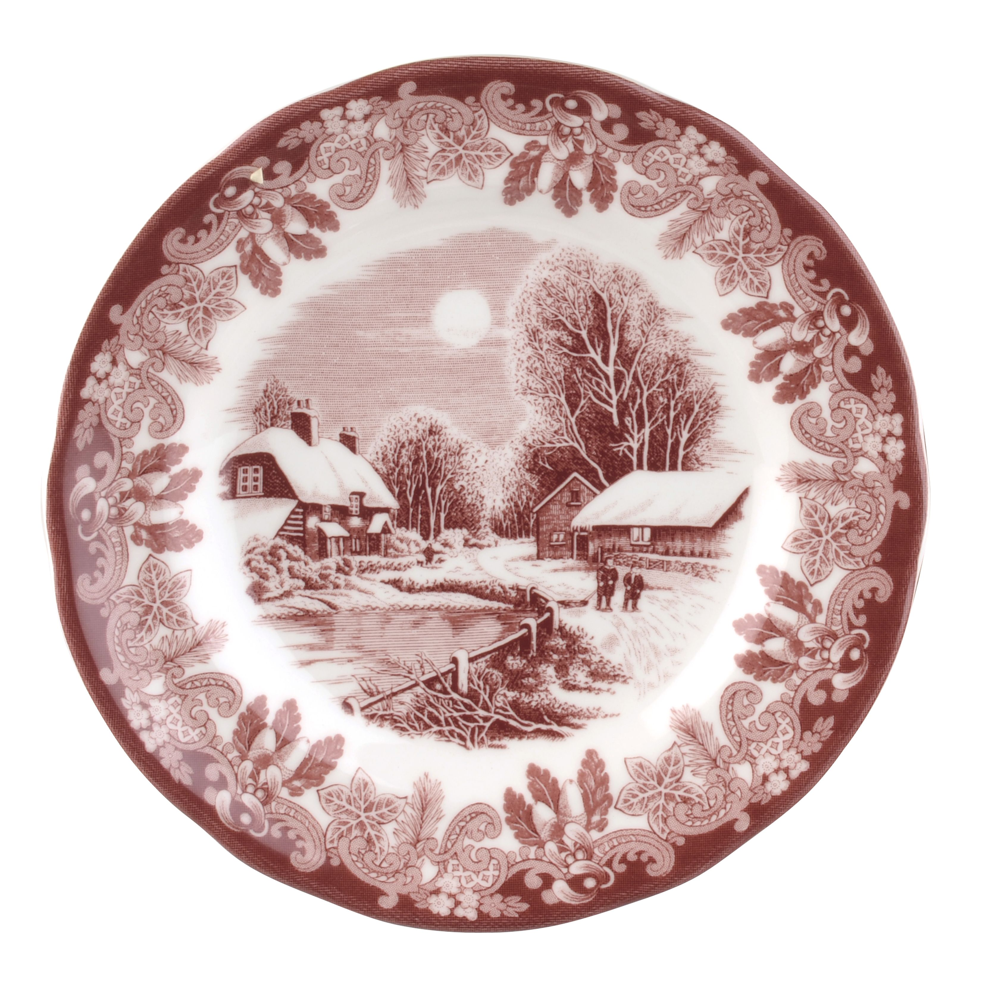 For This Modern Collection The Elegant Heritage Motif Has Been Reworked Into A Vibrant And Contemporary Red And Ke Spode Christmas Tableware Vintage Tableware