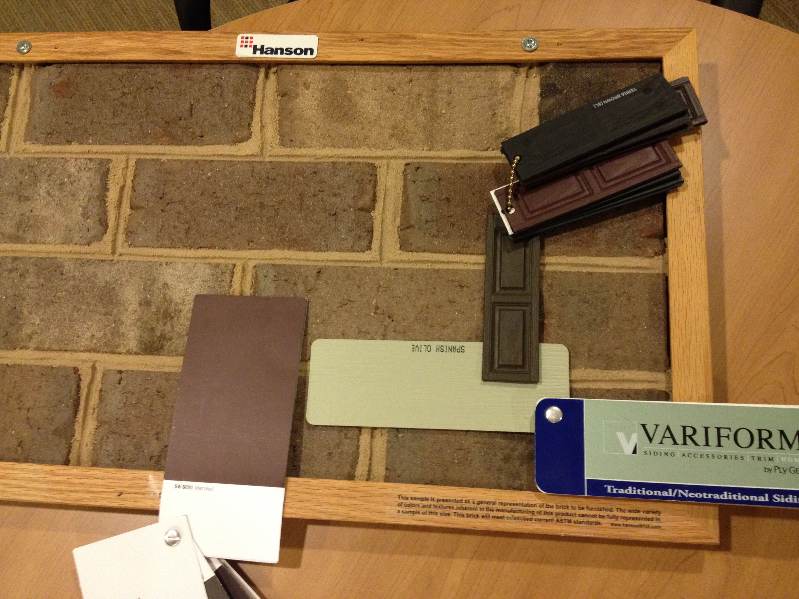 Our Exterior Color Selections Grand Caramel Brick