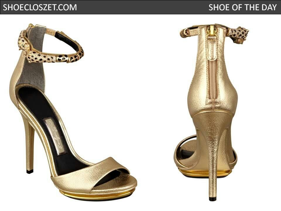 Gold ankle strap heels | Shoes | Pinterest | Ankle strap heels ...