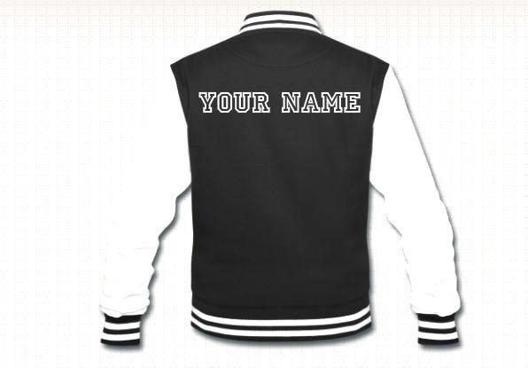 Name it Baseball jacket by Nanouk. College font Shop here : http ...