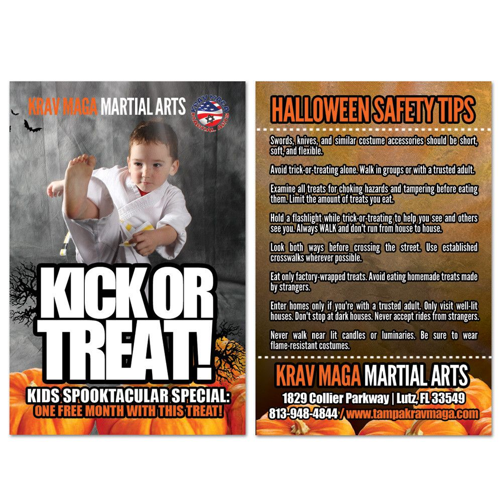 Halloween Safety Tips AD Card 02 Halloween safety tips