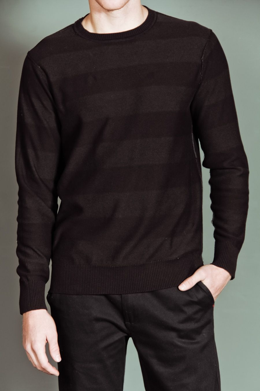 Dark #striped #sweater (via @JackThreads www.jackthreads.com)
