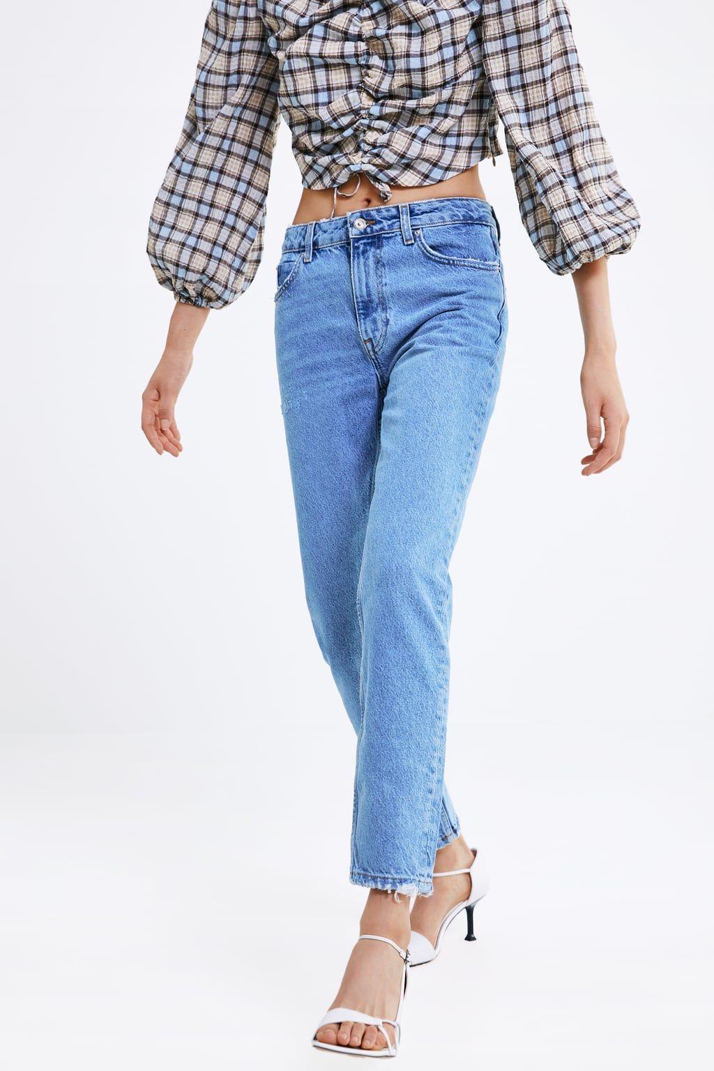 5a03b192 Z1975 mom jeans in 2019 | Zara | Jeans, Mom jeans, Jeans fit