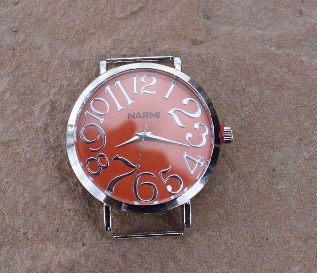 Jumbo Orange Watch Face