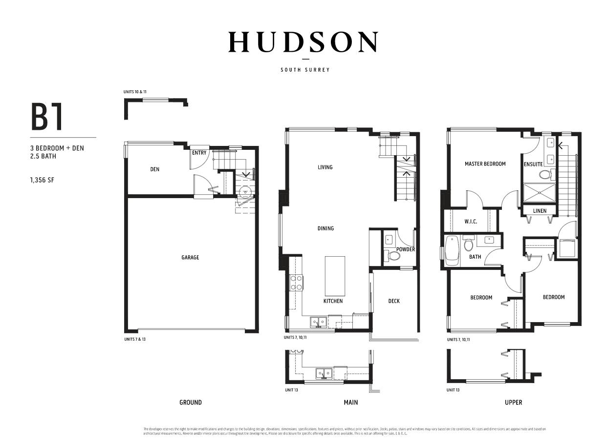 Floor Plan Of Unnamed Floor Plans Garage Bedroom Townhouse