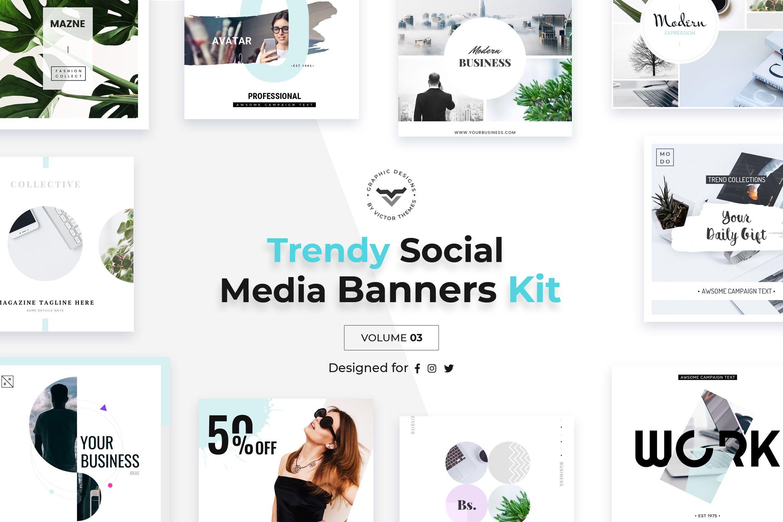 Social Media Pack suitable for all social media website promotions ...