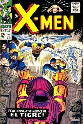 X-Men #25, El Tigre