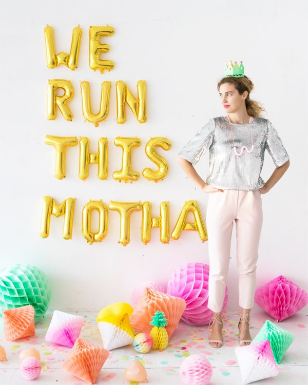 Neon Galentine's Day Party | Oh Happy Day! | Party | Name ...