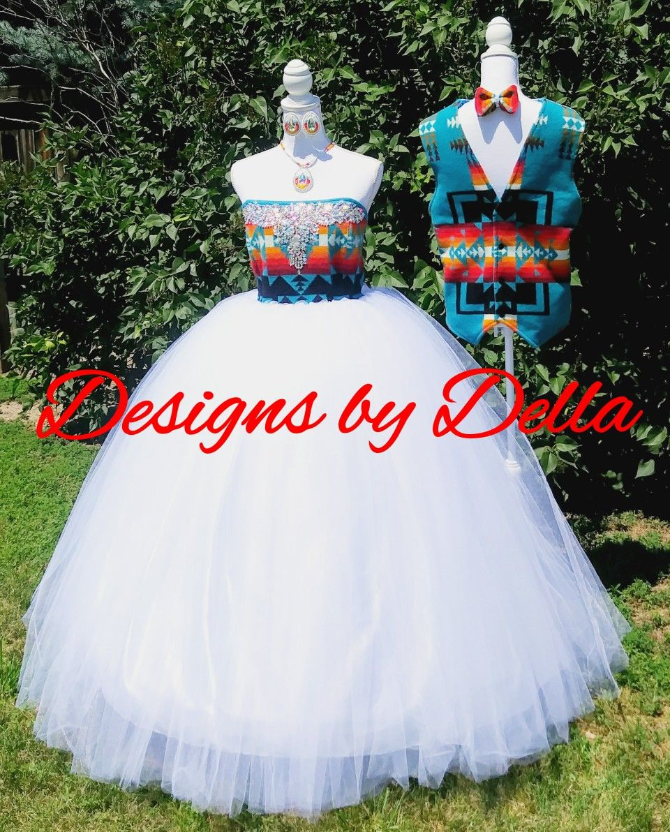 Pendleton Wedding Attire Made By Designs By Della Native