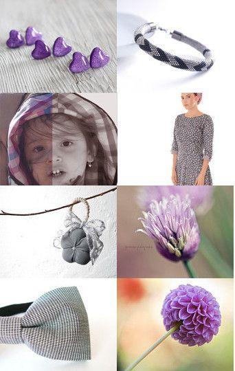 purple with grey TreasuryPin.com