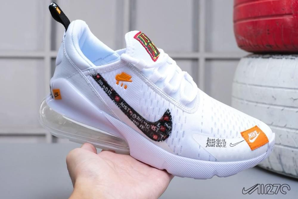 Nike Air Max 270 Just Do It White For Sale Nike Air Max Air Max 270 Air Max