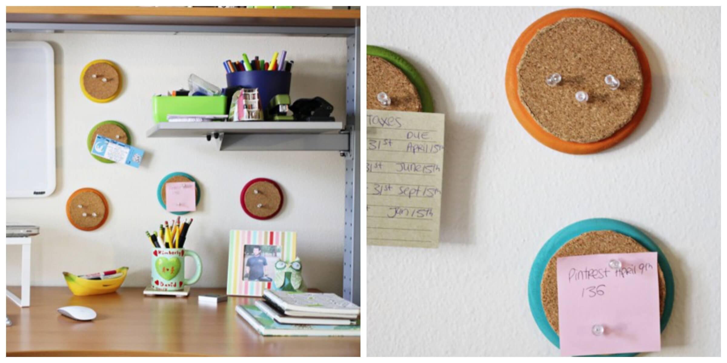 Craft 14 - Mini Corkboards | Bedroom | Pinterest | Bedrooms