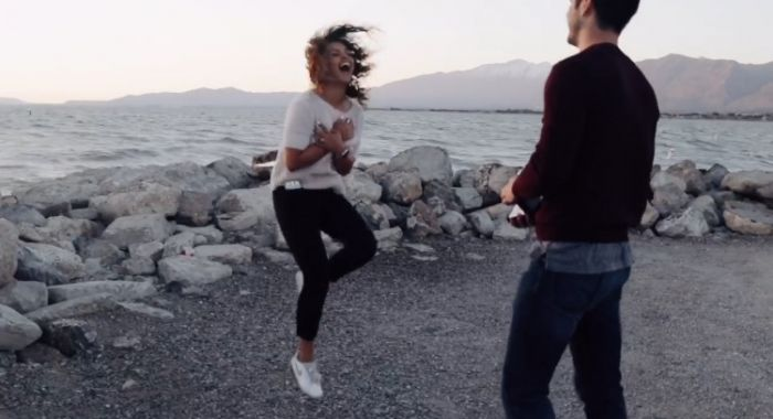 Fake Video Shoot Turns Into Adorably Captured Marriage Proposal