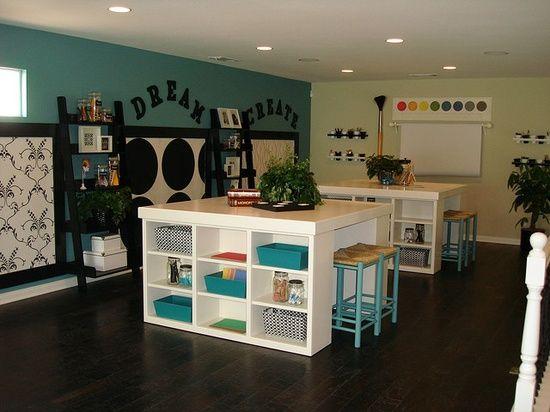 17 Amazing Craft Room Storage Organising Ideas Crafts