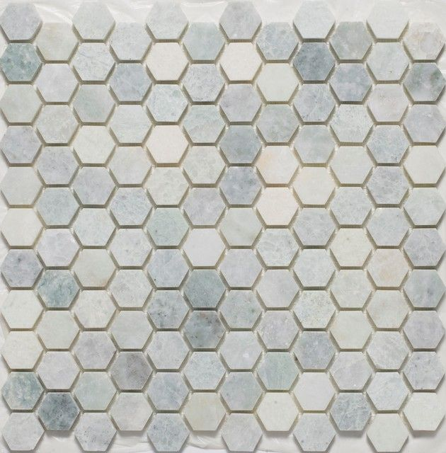 Mosaic Tile For Floor Resultado De Imagen De Hexagon Tile Bathroom  Formas De Instalar .