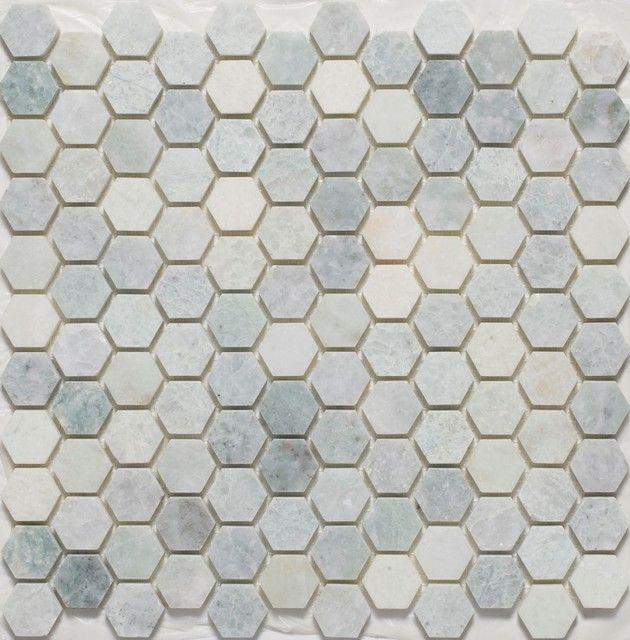 Mosaic Tile For Floor Resultado De Imagen De Hexagon Tile Bathroom  Formas De Instalar .