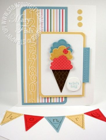 Stampin Up Birthday Card Ideas Stampin Up Pennant Parade Punch