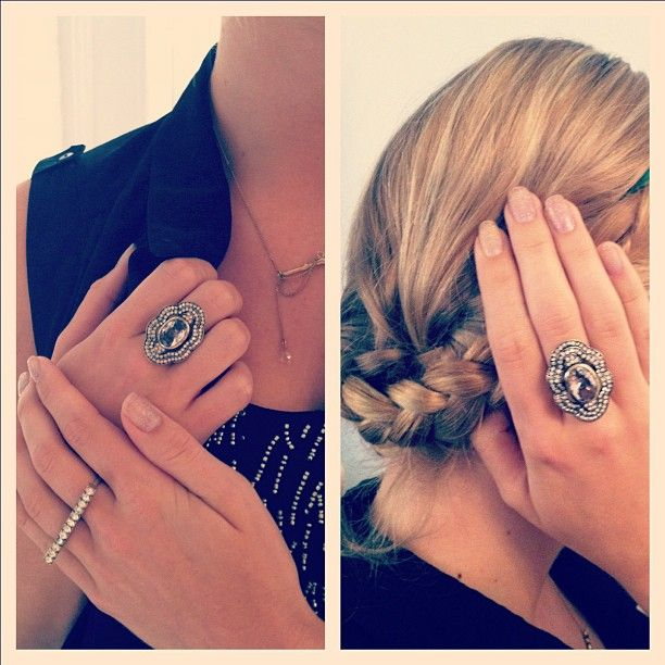 Sneak peek -- fall 2012 retro glam ring! #jewelry can't wait!    check out http://michelleminchaca.chloeandisabel.com