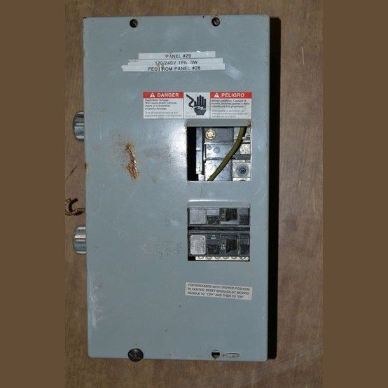 120 X2f 240v Circuit 2 2 Wire Single Phase 3 Pole 2 15 Amp Breakers Single Pole Please Breaker Panel Paneling Breakers