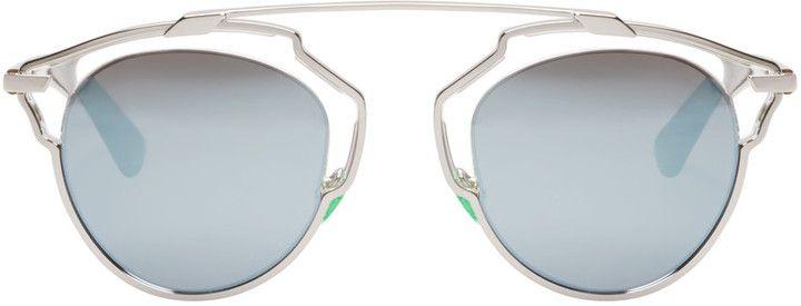 164e037676 Dior Silver So Real Sunglasses