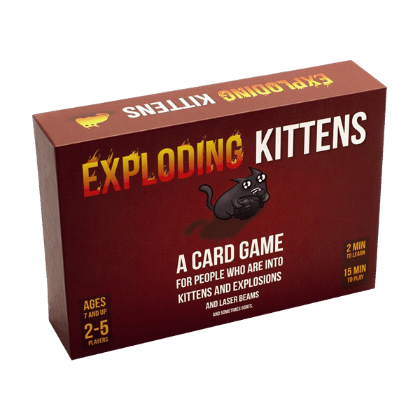 Exploding Kittens Card Game ZiNG Pop Culture Exploding