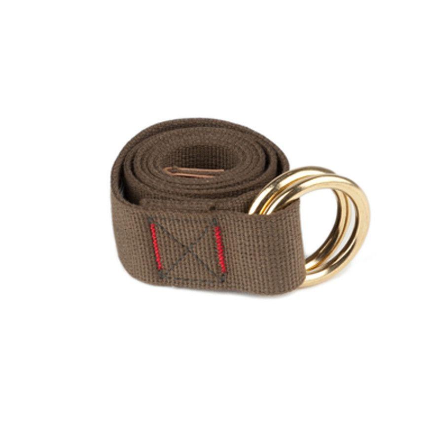 Wide Web Belt - Dark Olive