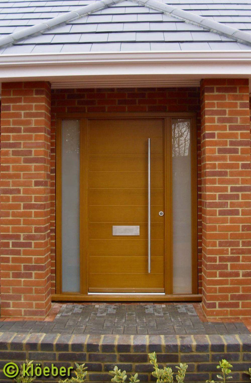 wms1000xKloeber Contemporary Front Door Hamburg 1 Frame
