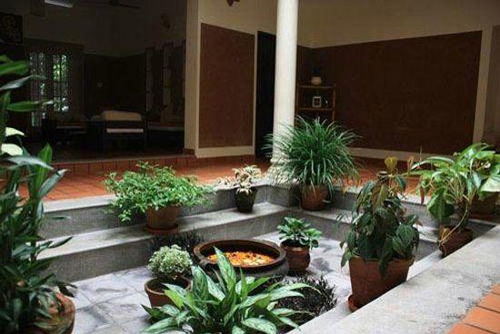Kerala model house plans with nadumuttam designs