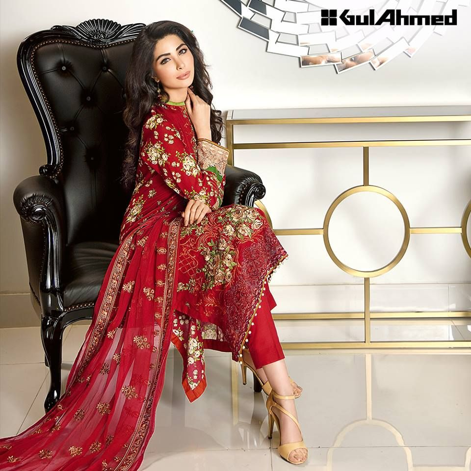 2896a9ef71 Gul Ahmed Summer Embroidered Lawn Dresses Collection 2019 | All that ...