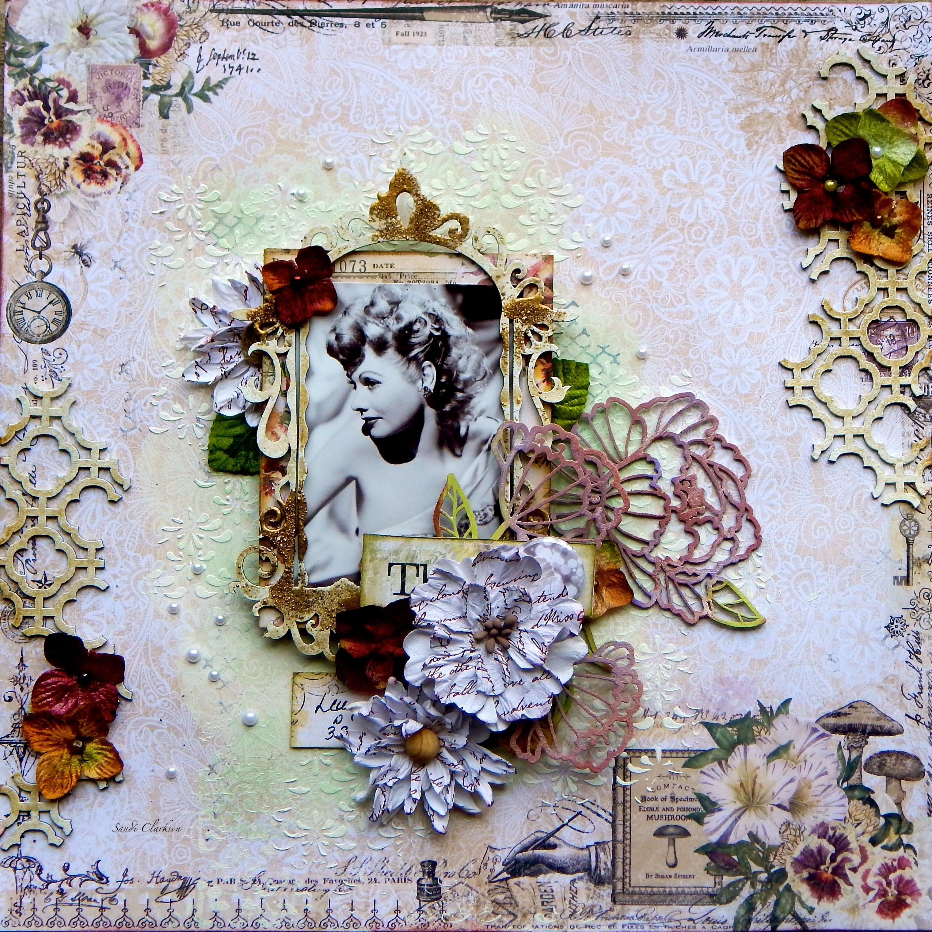 Blue Fern Studios ~ Lucy @ 33 - Blue Fern Studios using the new Autumn Anthology collection