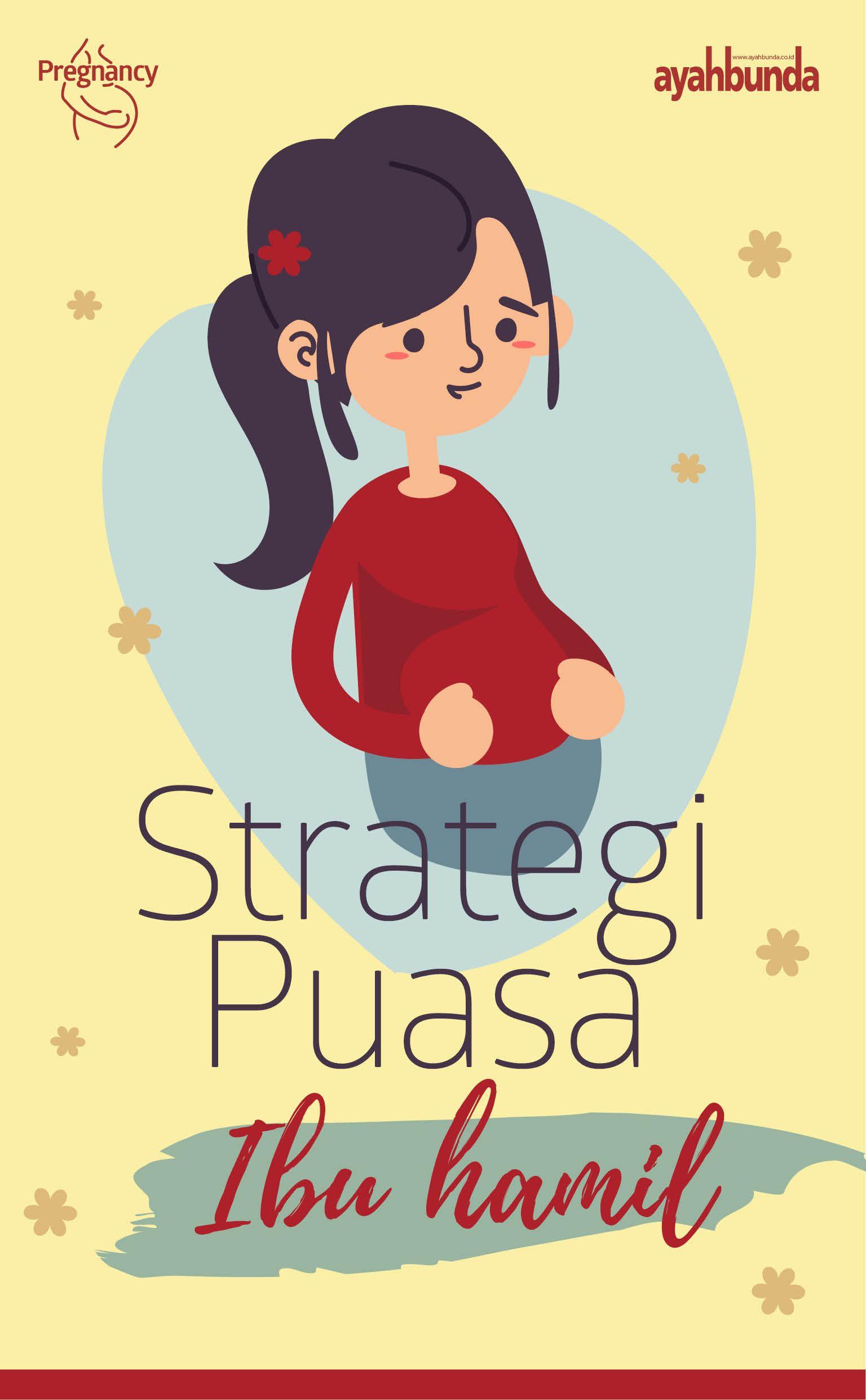 Perlu strategi berpuasa bagi ibu hamil di trimester 1, 2
