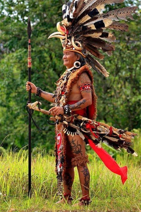 Dayak Warrior