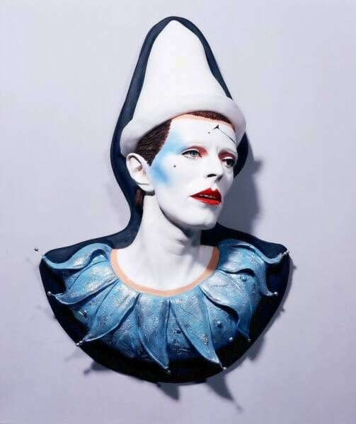 David Bowie, 'Ashes to Ashes' wall sculpture.