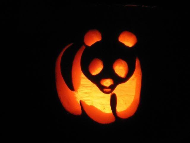 panda pumpkin carvings simple small house designpanda pumpkin pattern halloween osos panda, osos