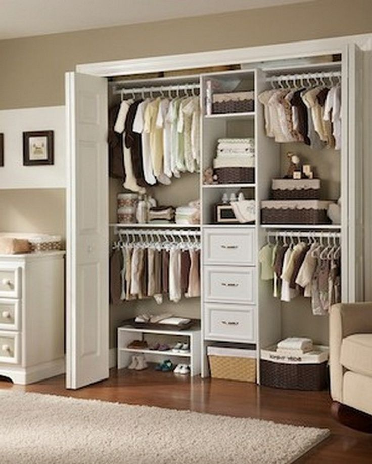35+ Awesome and Elegant California Closet Designs #