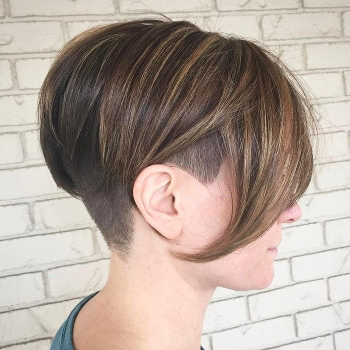 20 Cute Shaved Hairstyles For Women: Pin On Hair