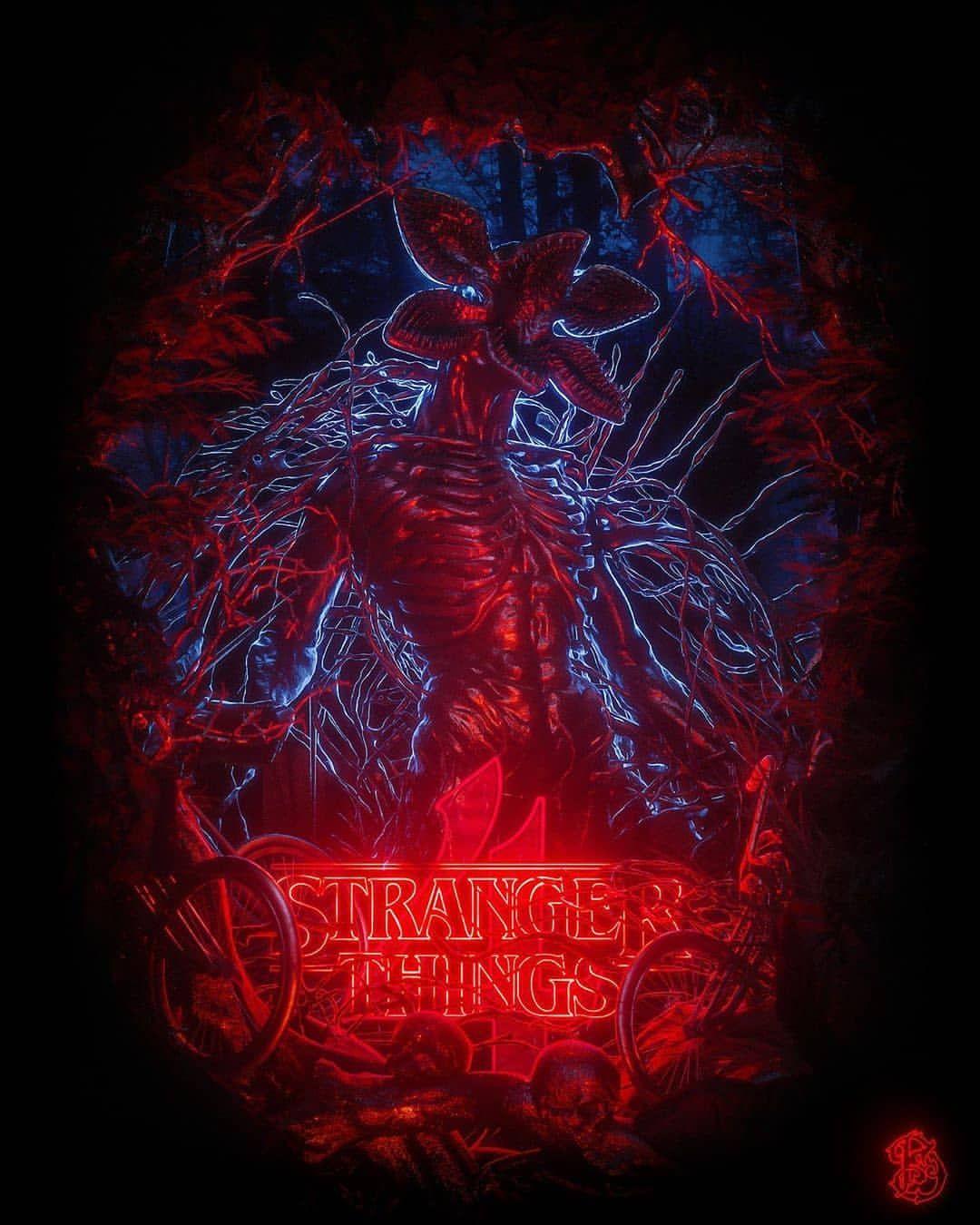 Stranger Things Stranger things artwork, Stranger things