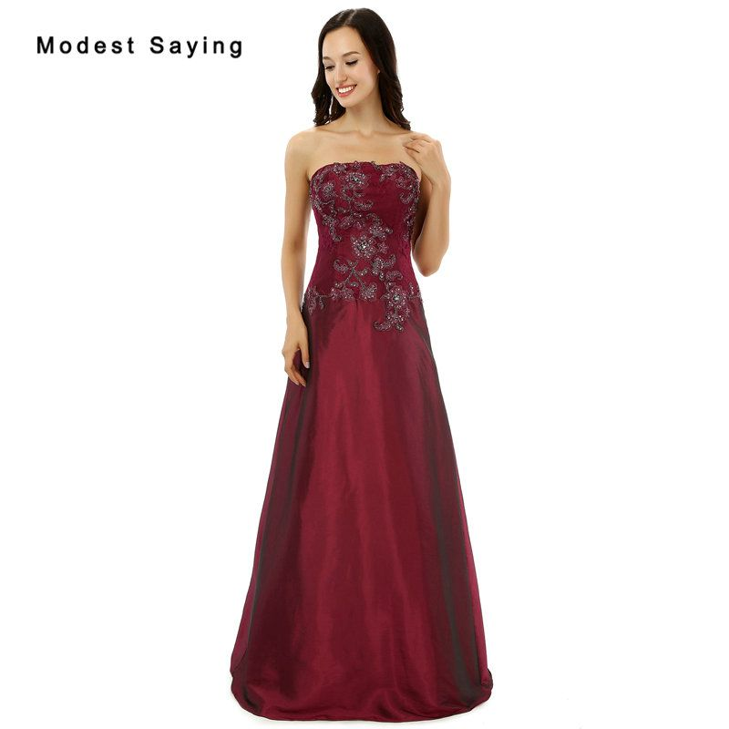 Find More Evening Dresses Information about vestido de festa New Wine Red  Lace Evening Dresses with Beading Sexy Plus Size Prom Dresses Formal Long  ... 9e173b9c0b17