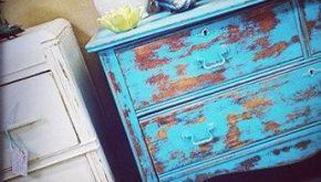Shabby Stil Möbel anleitung ganz einfach möbel mit kreidefarbe streichen