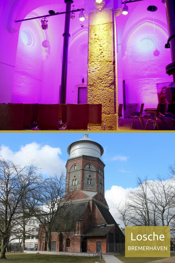 Die Losche In Bremerhaven Historischer Wasserturm Im Romantischen Backstein Flair Mit Industrie Chic Bremerhaven Raum Mieten Industrie Chic