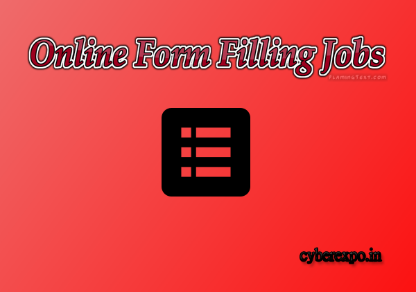Register Online Form Filling Jobs in CYBER EXPO  Daily work Daily