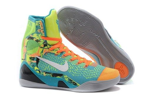 pretty nice 42e1a a1786 Kobe 9 Elite High-Top Influence Turquoise White-Volt-Total Orange