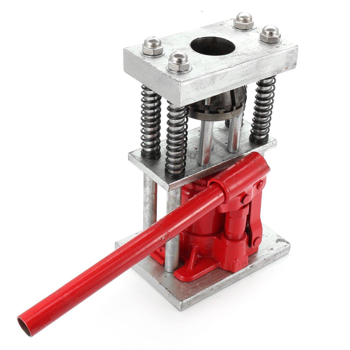 Manual Benchtop Hydraulic Bottle Jack Hose Crimper Hydraulic Hose Crimper 2t Bottle Jacks Crimper Hydraulic