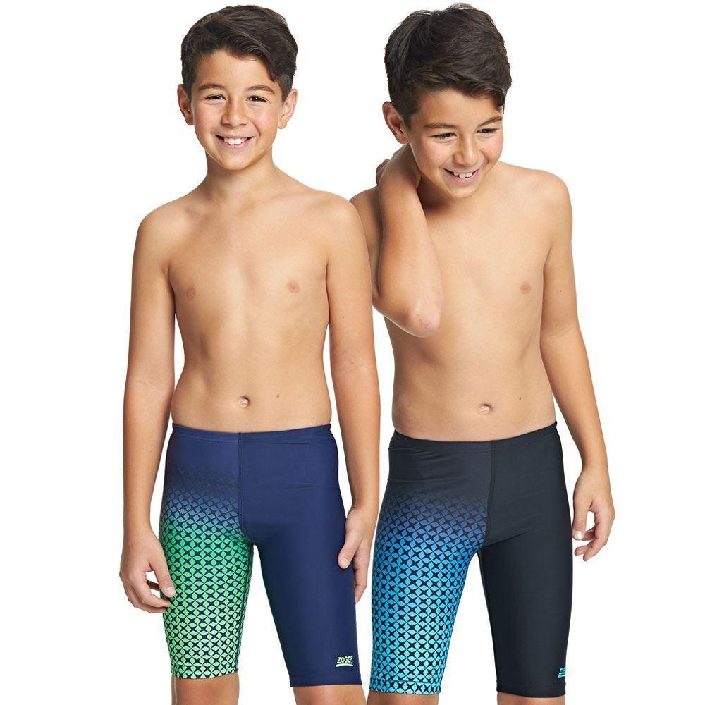 e4df9629ff Zoggs Hydrolife Douglas Junior Jammer Boys Swimming Shorts Swim Trunks Age  6-15