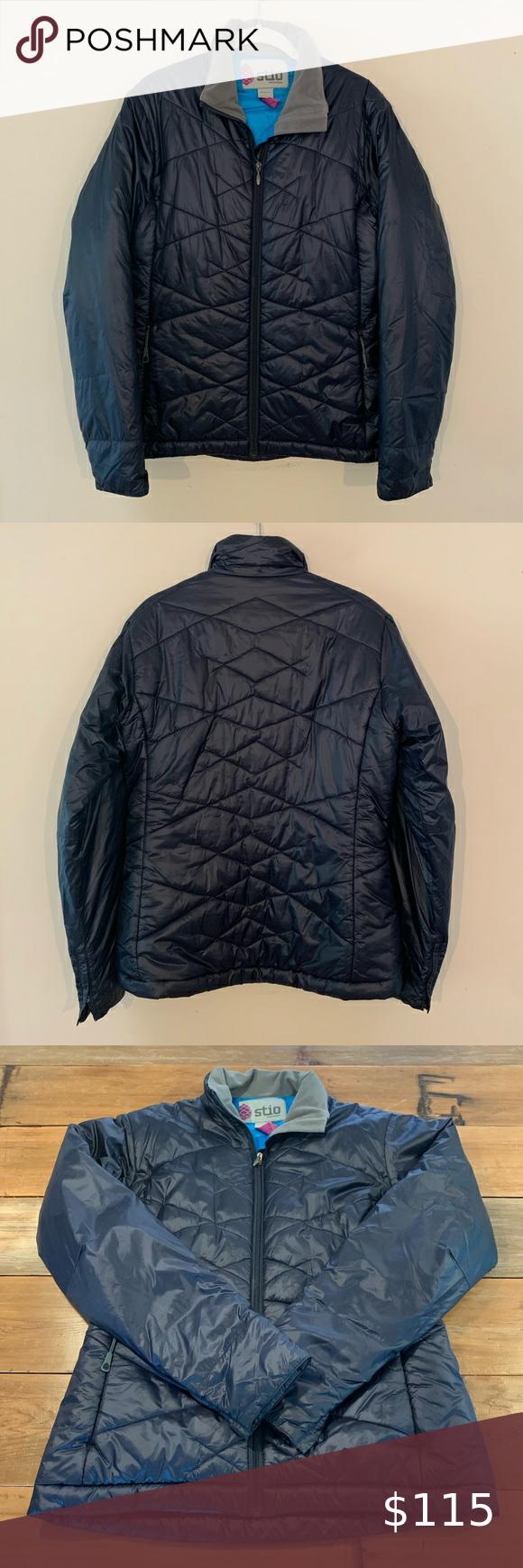 Stio Women S Navy Down Puffer Jacket Size L Navy Women Jackets Puffer Jackets [ 1740 x 580 Pixel ]