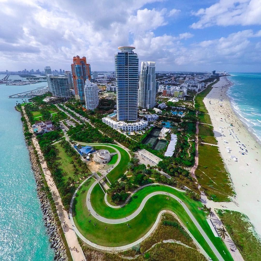 This Miami Beach View Is Incredible By Thatdroneview Miamibeach South Beach Florida Miami City Miami Beach Florida