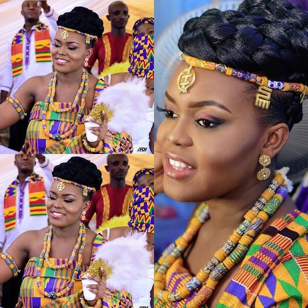 Wedding Hairstyles Ghana: Stunning Ways Kente Traditional Attire Can Change Your